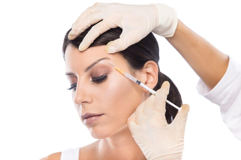 Aesthetician Giving Botox Injections | Skinn Bar
